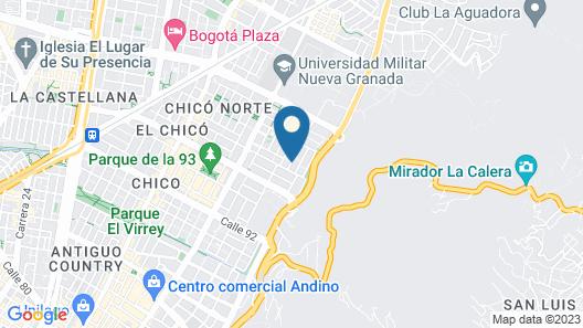 Cora 96 Street Map