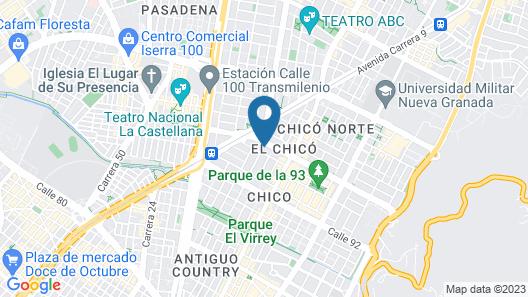 Hotel Espacio 94 Map