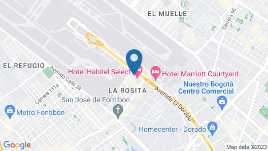 Hotel Habitel Prime Map