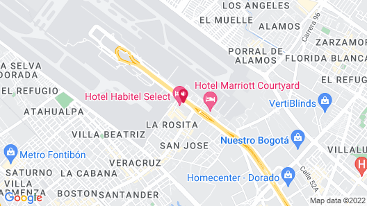 Hotel Habitel Select Map