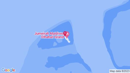 LUX* North Male Atoll Resort & Villas Map