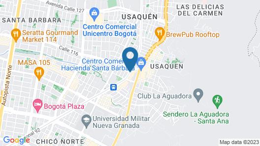 W Bogota Map