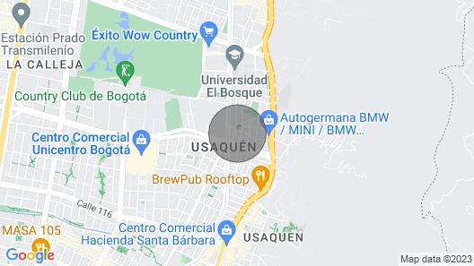 BELLA SUIZA, NORTE, PENTHOUSE DUPLEX Map