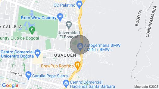 Cozy Suite in New Mini Hotel Map