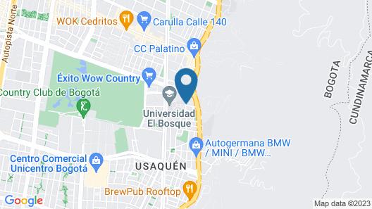 Wellness Hotel Usaquen Map
