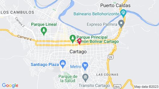 Hotel Don Gregorio Map