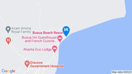 Busia Beach Resort- A Golden Beach Hotel Map