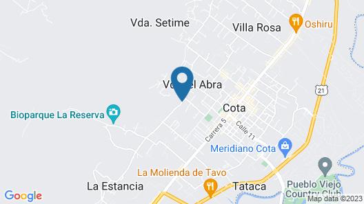 MonteMadero Casa Hotel Map