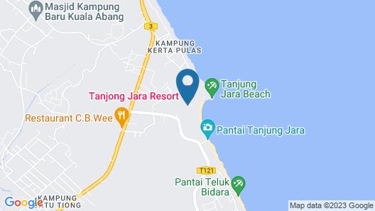 Tanjong Jara Resort Map