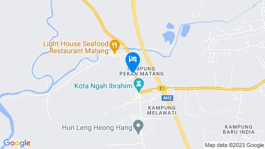 TT Dorf Hotel Taiping Map