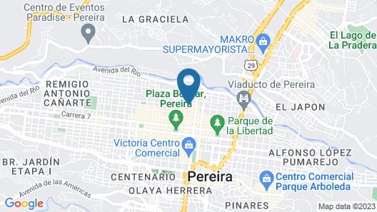 Aparta-hotel central 418 Map