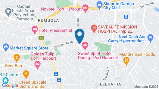 Echelon Heights Hotel Map