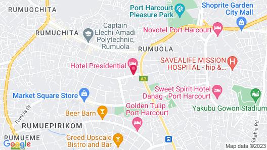 Presidential Hotel Map