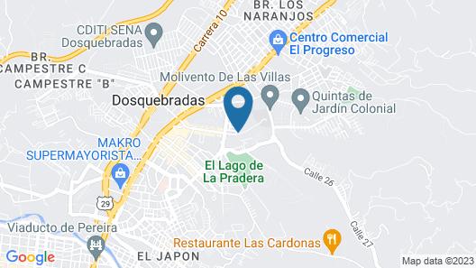 Lagos De La Pradera By Parceros Group Map