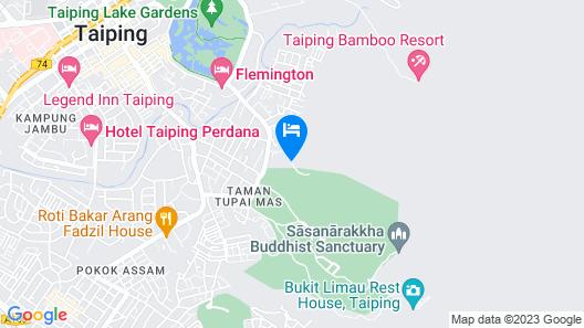 Taiping Lakeview Homestay Map