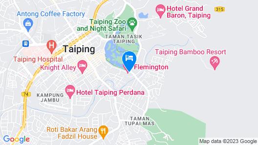 Flemington Hotel Map