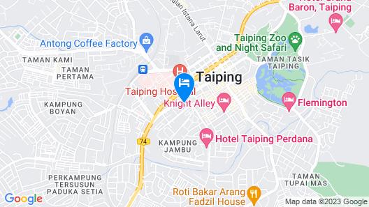 The Regency Hotel Seri Warisan Map