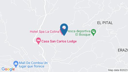 Hotel Spa La Colina Map