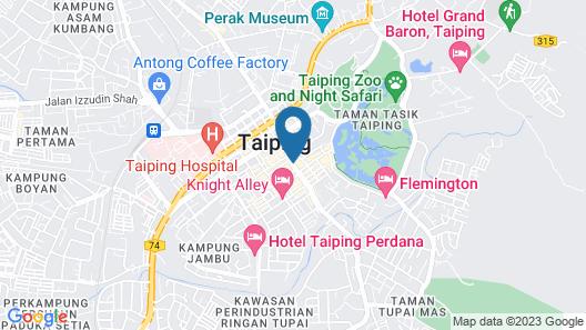 Novotel Taiping Perak Map