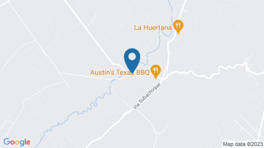 Subachoque Hostal Map