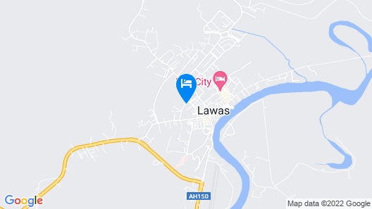 Borneo Hotel Map
