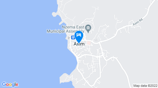 Ankobra Beach Resort Map