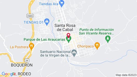 Hotel del Turismo Map