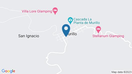 Cumanday Refugio Map