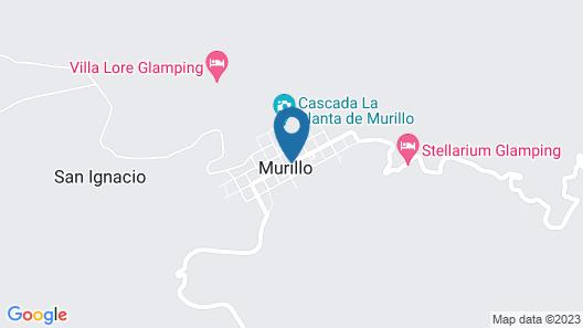 Casa Paraíso Murillo Map
