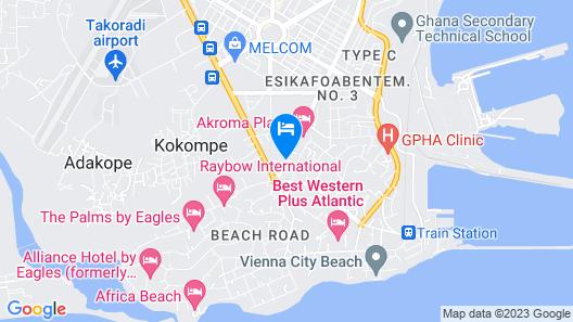 Akroma Plaza Map