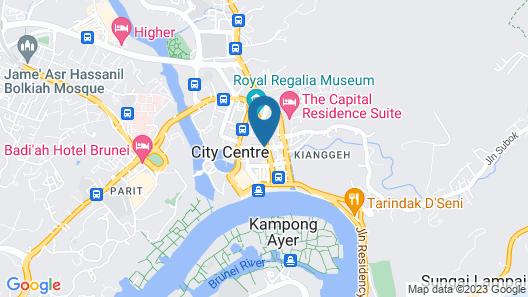 Seaview Hotel Map