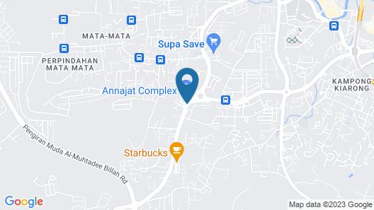Wafa Hotel & Apartment Map