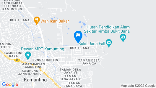 Janaview Taiping Hotel Map