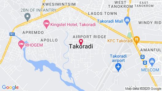 Raybow International Hotel Map