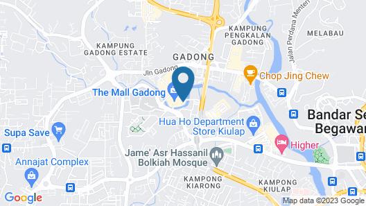 The Rizqun International Hotel Map