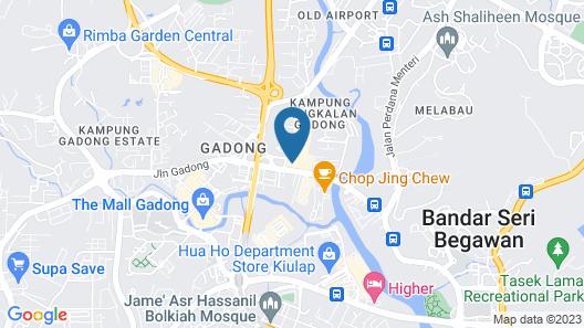 Co.Living Hostel Map