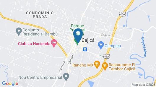 Clarion Sabana Park Map