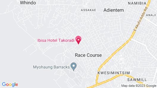 Ibisa Hotel Map