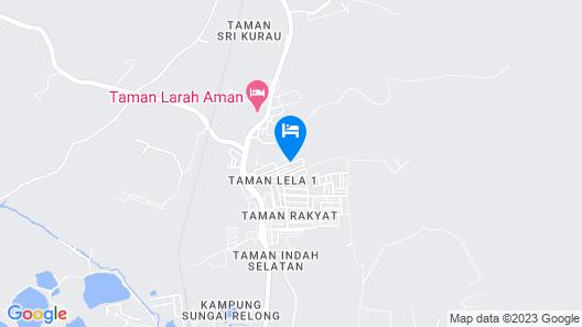 Fahaz Taiping Homestay Map