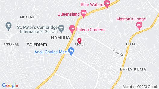 Anaji Royal Hotel Map