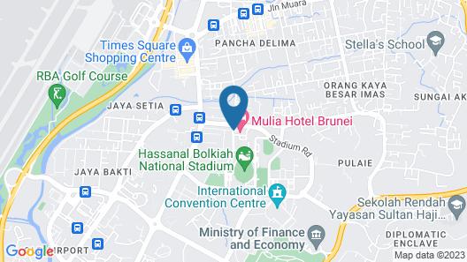 Mulia Hotel Map