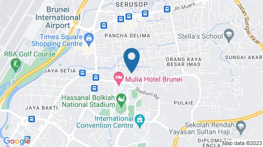 D'Anggerek Serviced Apartment Map