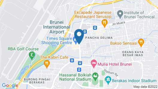 Times Hotel Map