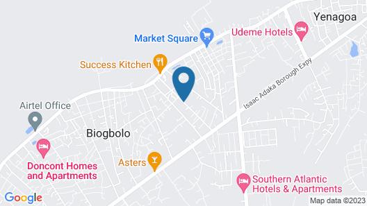 Green Villa Suites, Yenogoa Map