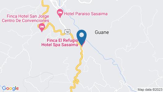 El Refugio Hotel & Spa Map