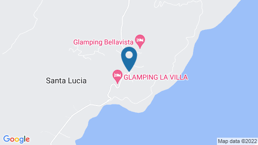 Glamping Colombia Map