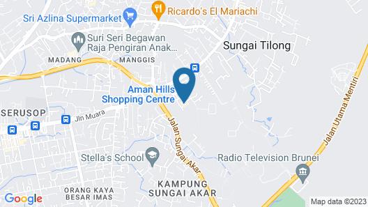 Aman Hills Hotel Map