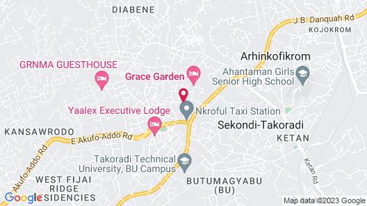 Grace Garden Hotel Map