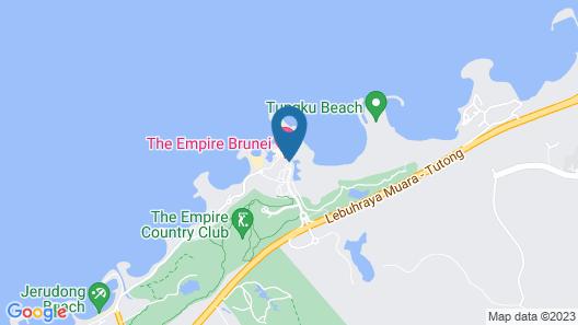 The Empire Brunei Map