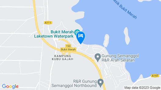Bukit Merah Laketown Resort Map